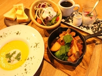 朝食サンプル(洋食)