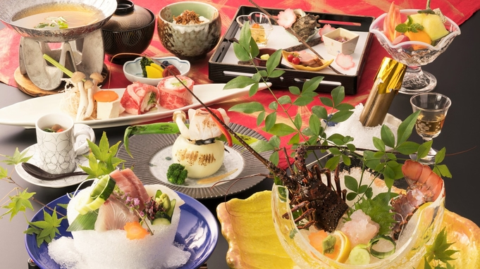 【夏休み◆ロイヤルフロア】最上階70平米の開放感と伊勢海老料理・特典付き/個室食