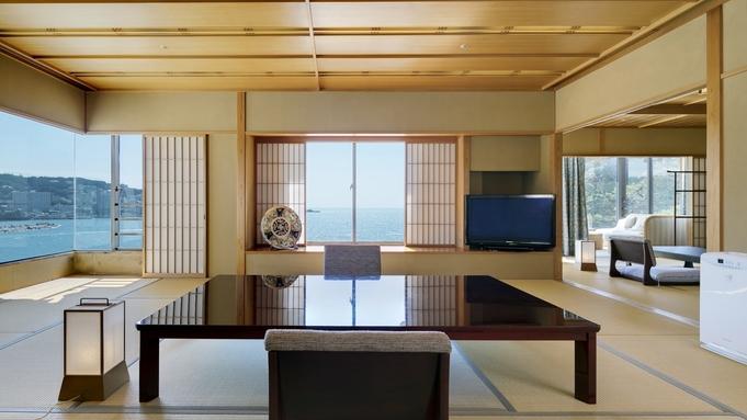 【夏休み◆貴賓室「岬」】全ての部屋から極上の景色<総面積120平米>風雅特選会席&特典付/個室食