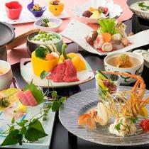 【咲会席】海山の幸と旬を取り入れた会席料理