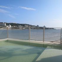 【潮風】爽快な海と白い砂浜の景色が楽しめる露天風