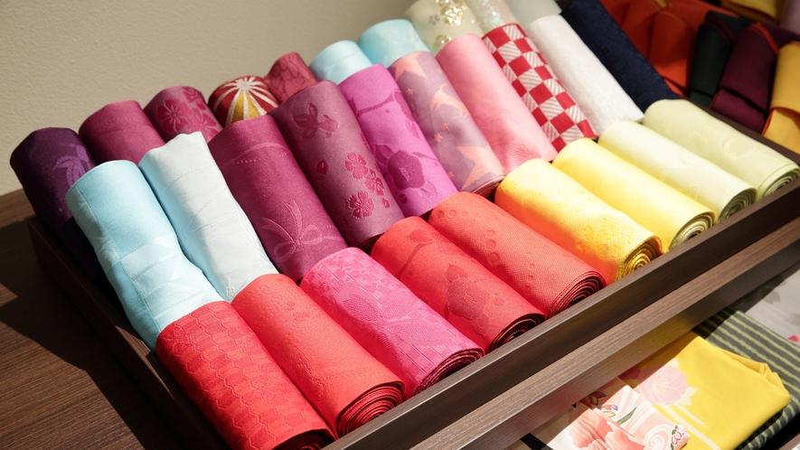 【デザイン浴衣】帯の種類も多く選ぶのが楽しい