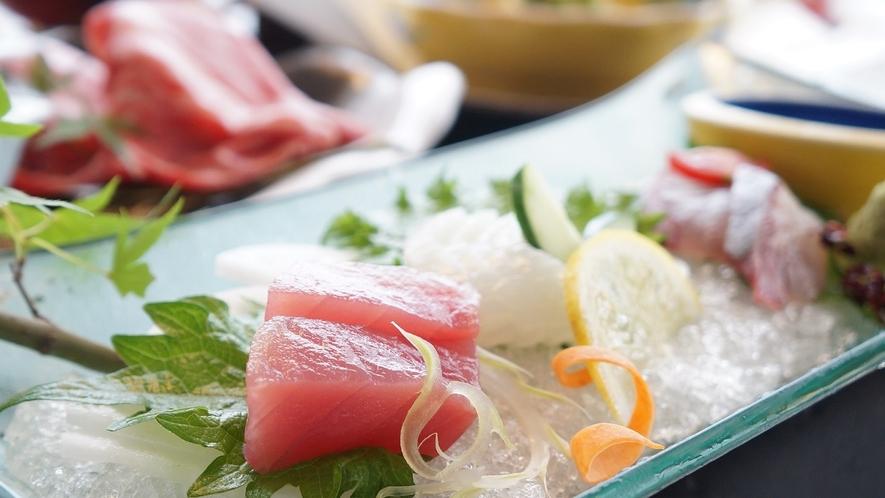 【会席料理】新鮮な海の幸を中心としたお料理