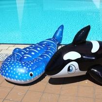 【夏休みファミリープラン】大人気!海でプールで大活躍♪シャチ・ジンベエザメのフロート