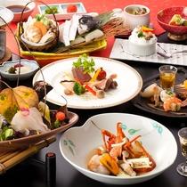 【くえ会席】様々な調理法で味わうくえのお料理会席です