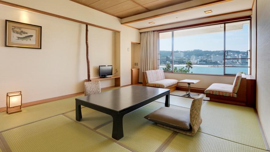 【スタンダード和室】(10畳)35平米、最も客室数の多いお部屋タイプ(定員4名)