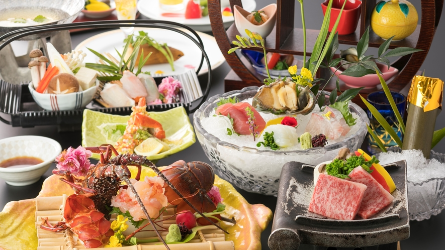 【絢爛会席】高級食材を一度に味わう贅沢なお品書き