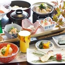 【朝食】朝は和食でゆっくりと
