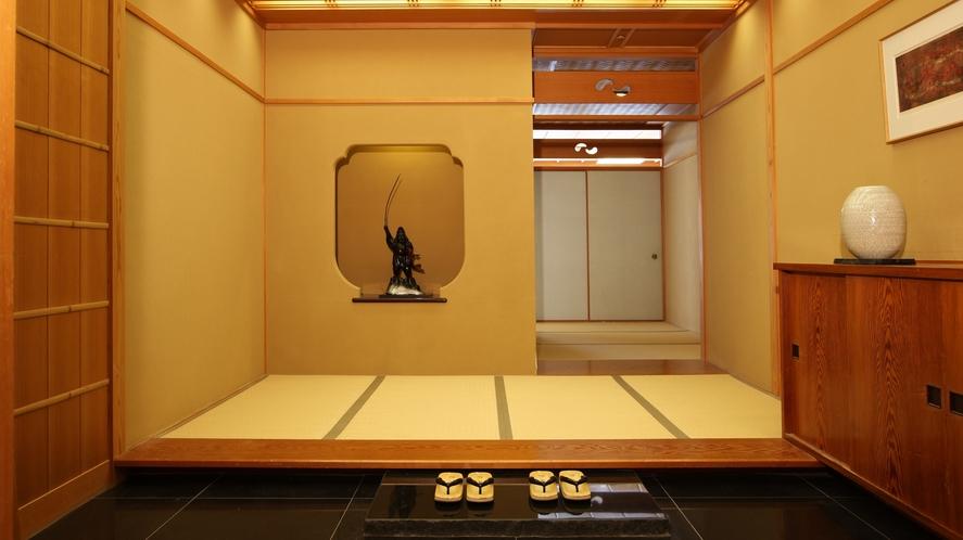 【貴賓室 岬】純和風のお部屋