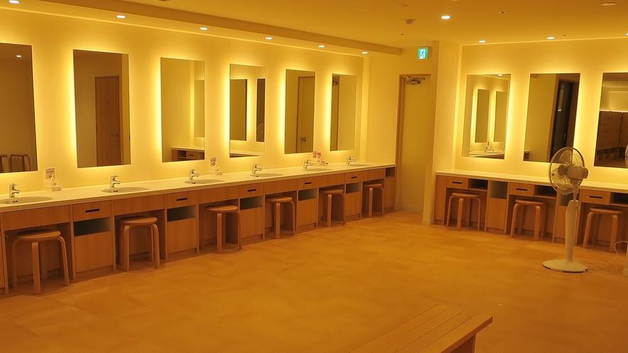 【大浴場】化粧台イメージ