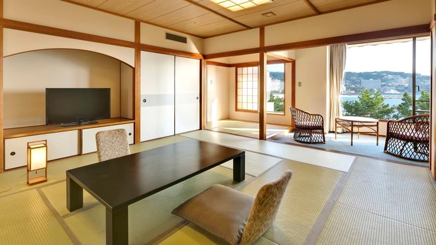 【スーペリア和室】(12.5畳)少し広めの総面積48平米のお部屋(定員5名)