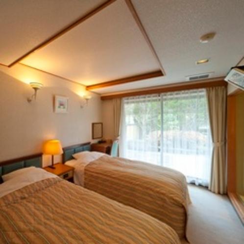 和室6畳+ツインベットルーム(210号室[椿])
