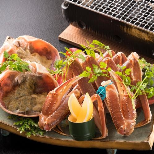 加能蟹(焼き蟹)