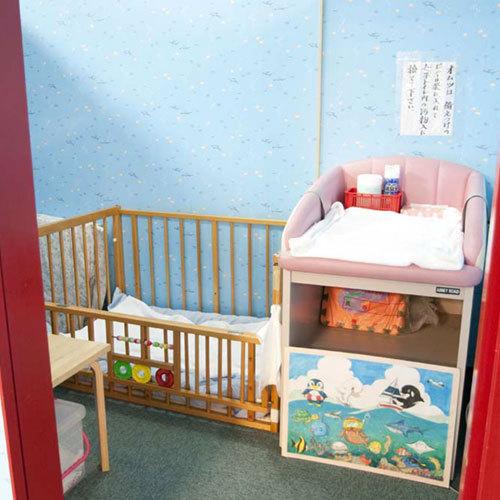 地下1階にはママには嬉しい授乳室のご用意もございます。