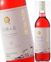中伊豆ワイナリー 巨峰ロゼが一番人気です