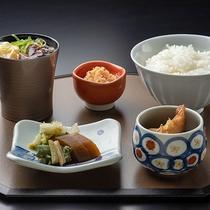 【冬の和食会席】章月スタイリッシュ~食事/「ふっくりんこ」釜炊きごはん