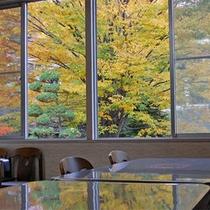 食堂から望む景色