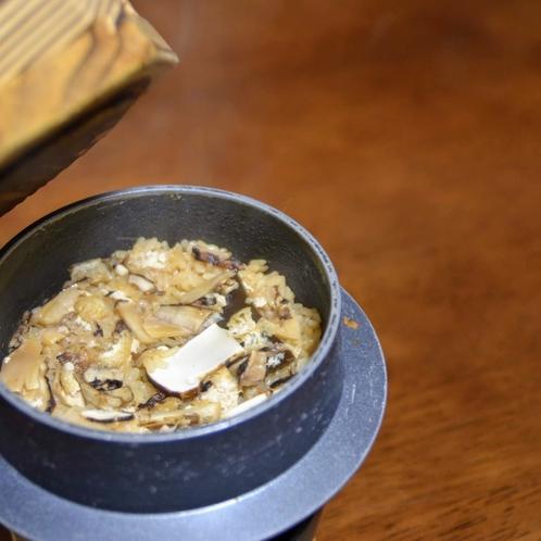 松茸入り釜飯イメージ