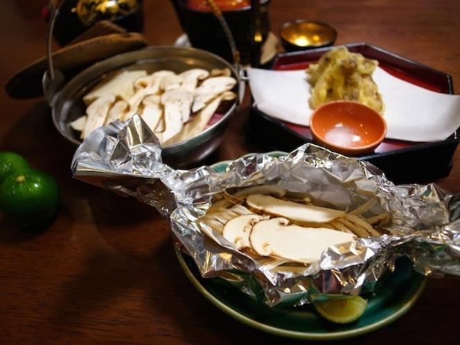 松茸別注料理(ホイル蒸し)