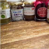 【朝食】≪一品≫大和産食材使用のジャム