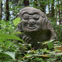 【観光】飛鳥 猿石 石造