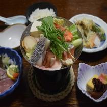 【夕食】≪日替わり定食≫ 寄せ鍋