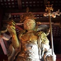 【仏像】多聞天 東大寺 大仏殿