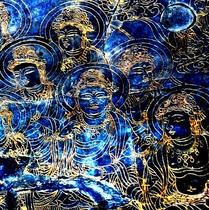 【仏像】奈良大仏の 連弁(れんべん)の模様