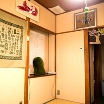客室 キトラの間 四神壁画の絵