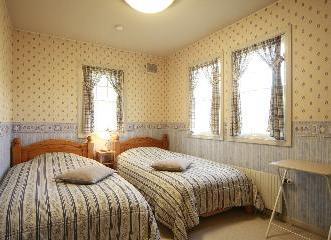 ツインベッドルーム 洋室のお部屋