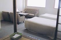 客室例:和洋室(ツイン+和室)