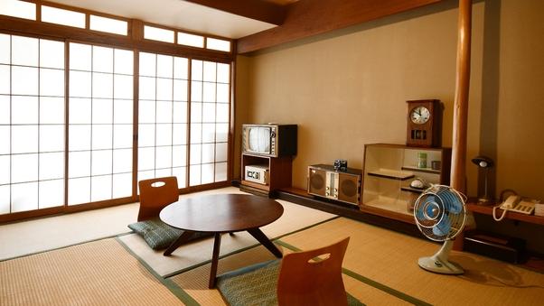 【昭和レトロ部屋8畳】トイレ付※テレビはありません