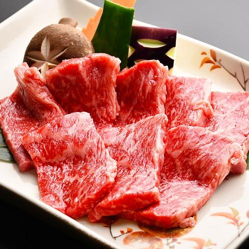 佐賀和牛の陶板焼き