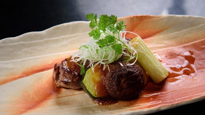 【夕食部屋食】極上肉の旨味染みわたる野菜と黒毛和牛の蒸ししゃぶ懐石&黒毛和牛ステーキ付プラン