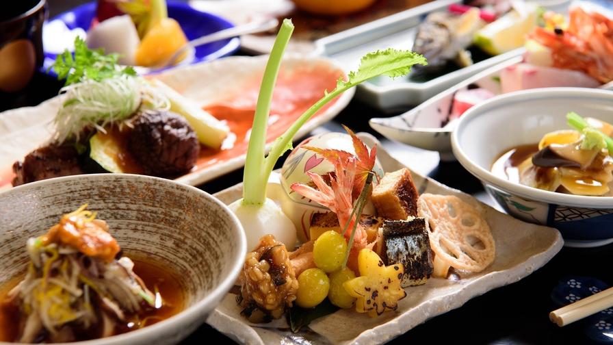 ◆【部屋食】朝はゆっくりしたい方へ〜一泊夕食付きプラン