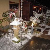 玄関から2(冬)