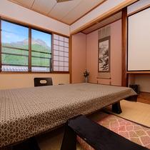 【由布岳の見える本館2階】客室一例