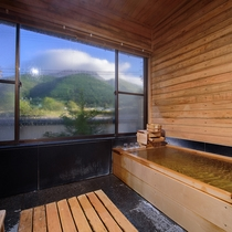 【あがの】檜風呂付離れ 檜風呂