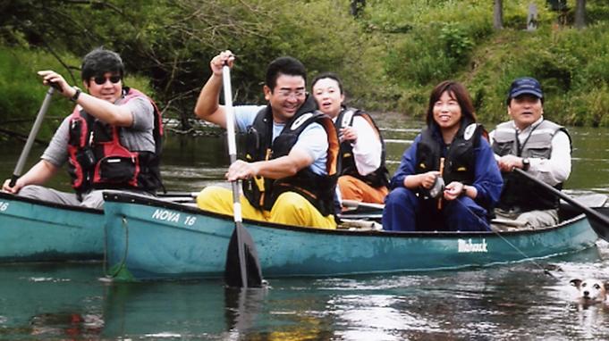 【朝食付】☆カヌーツアー2時間コース☆釧路湿原で絶景アウトドア体験!
