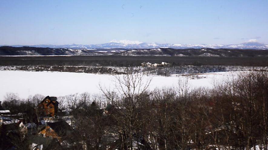 ロッジからの展望(冬)