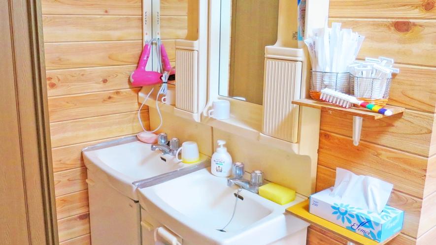*共同洗面所/準備はこちらをご利用下さい。