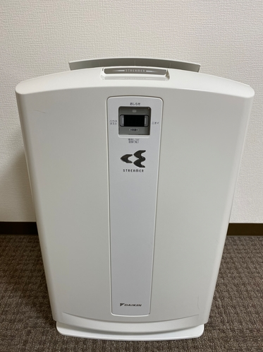ダイキン高性能加湿空気清浄機(禁煙DXツインルーム)