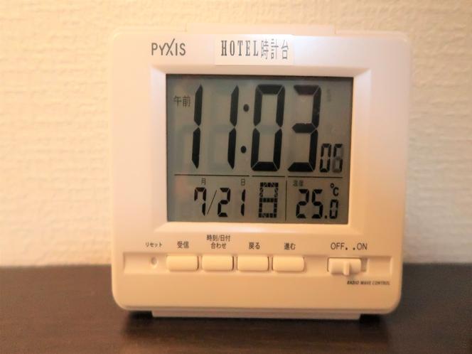 アラーム時計