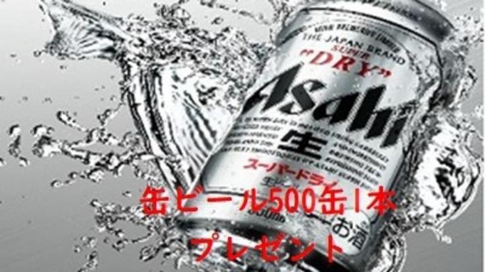【缶ビール500缶1本付】ビジネス応援プラン(素泊り)夜鳴きラーメンサービス。天然温泉大浴場有。