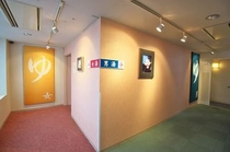 5階展望温泉入口(男女)