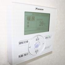 全客室空調パネルリモコン完備