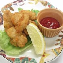 1Fレストラン松囃子 鶏の唐揚げ
