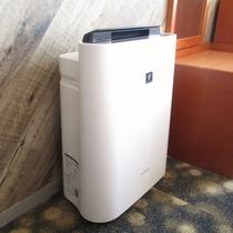 空気清浄機付き加湿器完備(和室のみ貸出)