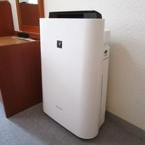 空気清浄機付加湿器(洋室のみ)