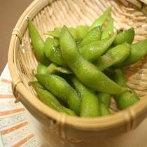1Fレストラン松囃子 枝豆